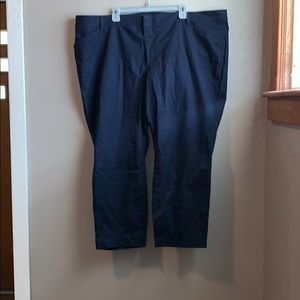 Old navy pixie chino ankle pant, navy size 26
